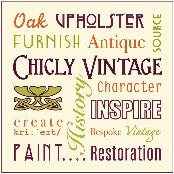 The words of #ChiclyVintage #CV  facebook.com/chiclyvintage
