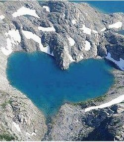 Shimshal lake located in Hunza Valley, Gilgit Baltinstan