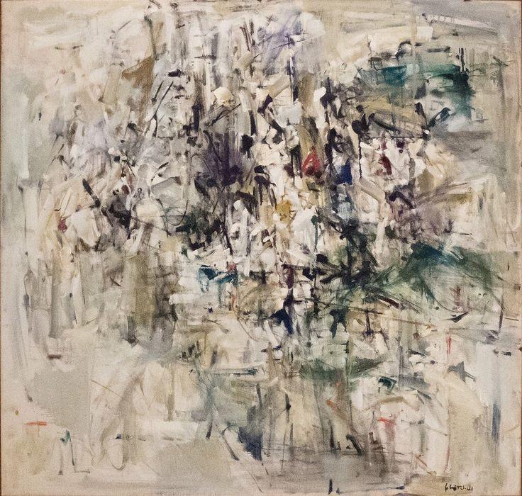 Джоан Митчелл, Живопись 1953, 1953.