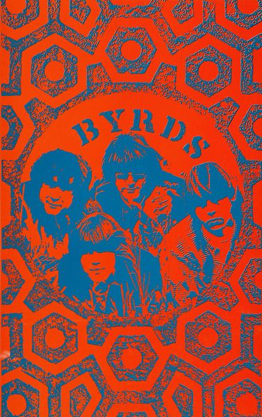 The Byrds poster 1967
