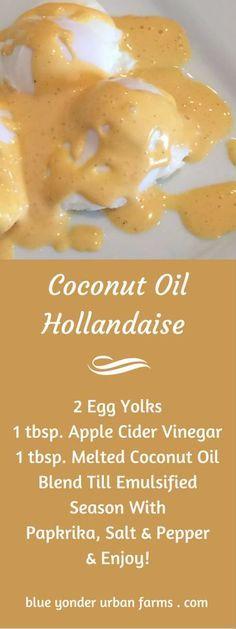 Coconut Oil Hollandaise Sauce | Blue Yonder Urban Farms | Karen Coghlan | /search/?q=%23coconut&rs=hashtag /explore/oil/ /search/?q=%23coconutoil&rs=hashtag /search/?q=%23hollandaise&rs=hashtag /search/?q=%23sauce&rs=hashtag /search/?q=%23sugarfree&rs=hashtag /search/?q=%23flourfree&rs=hashtag /search/?q=%23bright&rs=hashtag /search/?q=%23line&rs=hashtag /search/?q=%23eating&rs=hashtag /search/?q=%23brightlineeating&rs=hashtag /explore/paleo/ /explore/whole30…