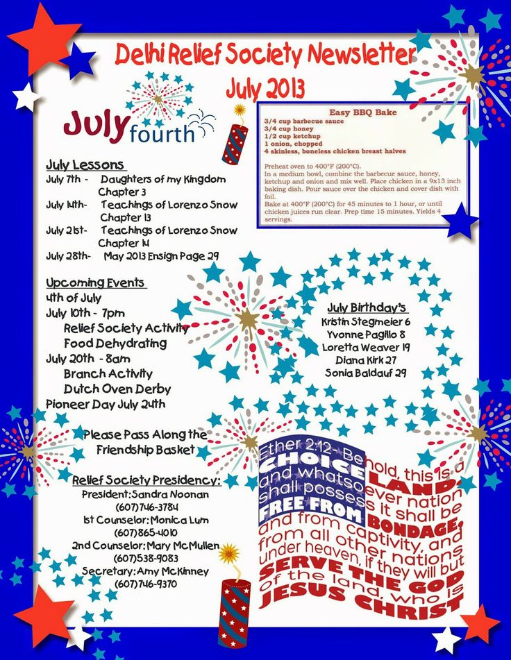 Th Of July Newsletter Templates on celebration flyer, stationery free, party invite, office closed sign, black white, fireworks flyer, parade sign, party invitation,
