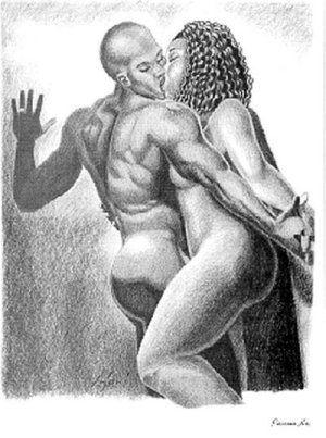 Erotic african sculpture amusing
