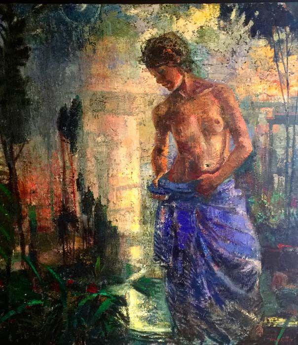 Peintre Hopkins Tom   GALERIE D'ART DOUCE PASSION