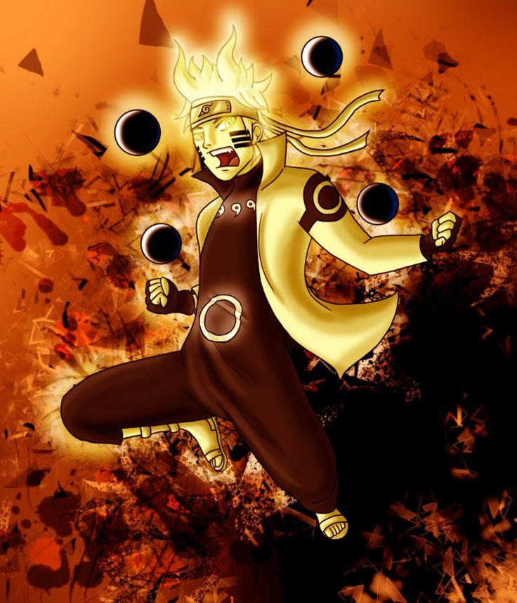 Naruto Mode Ermite Rikudo Dessin