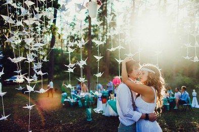1000 бумажных журавликов: свадьба Кати и Феди