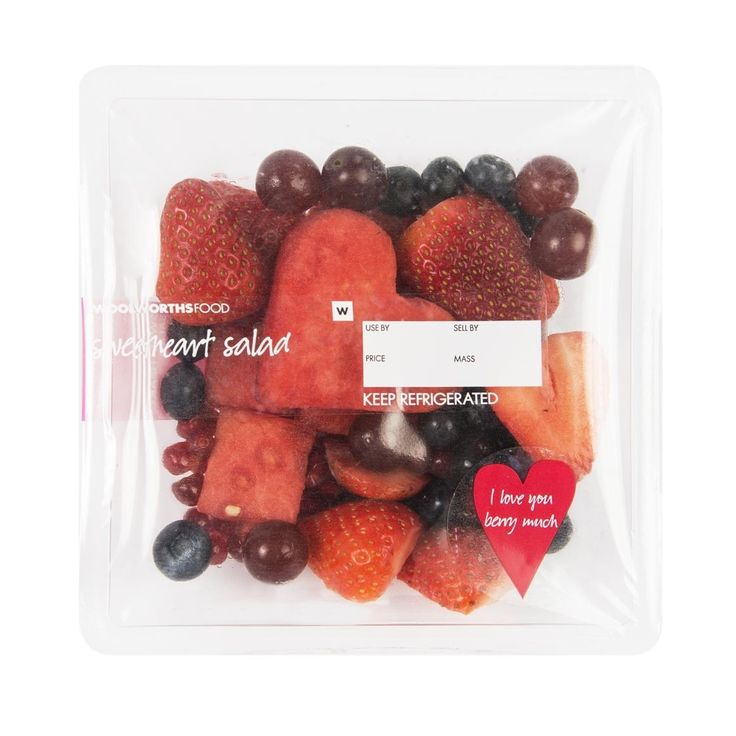 Sweetheart Fruit Salad 545g