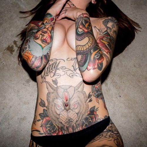 http://woundsocket.tumblr.com the hottest inked girls on the planet follow for more :) #inked #tattoo #inkedgirls #tatted #inkedgirl #ink #tat
