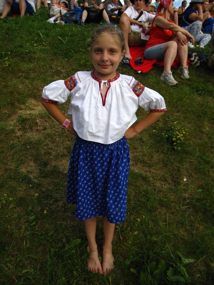 Fotogaléria 26/31 - Deti v slovenských tradičných krojoch - no nie sú rozkošné? Prvý júlový víkend patril folklóru a slovenským tradíciám. Na jednom z najznámejších...