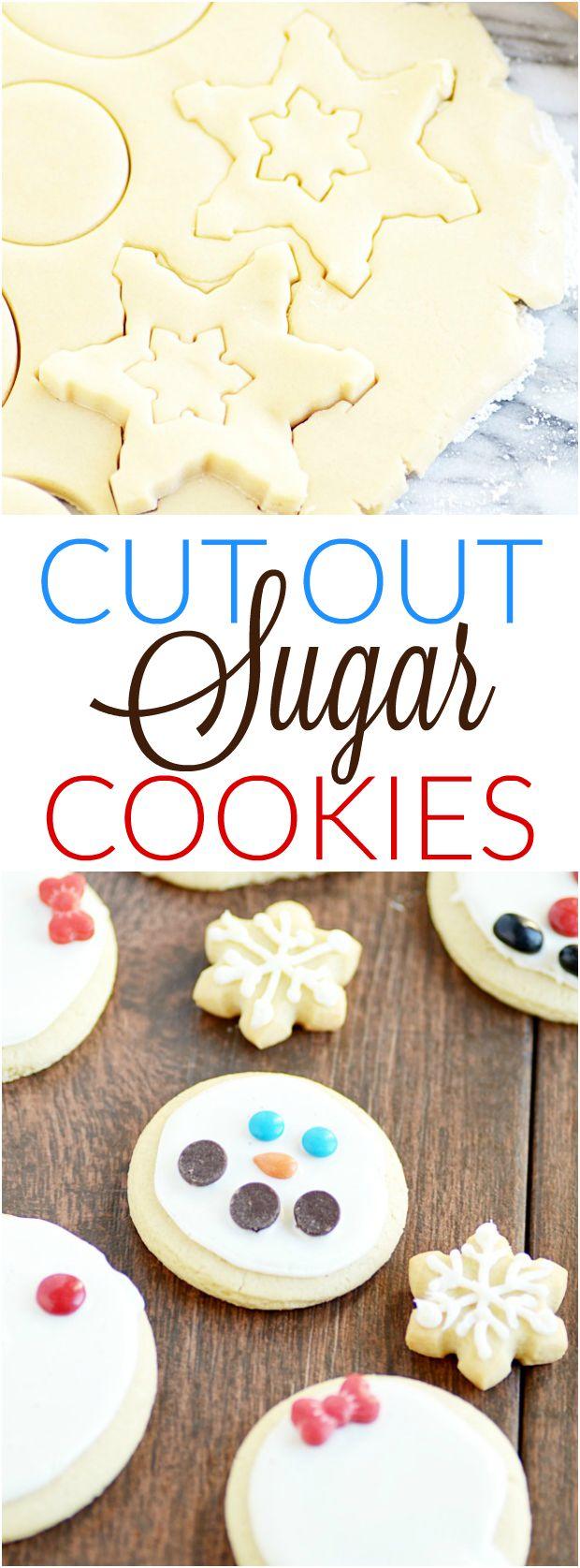 No spread sugar cookie recipes
