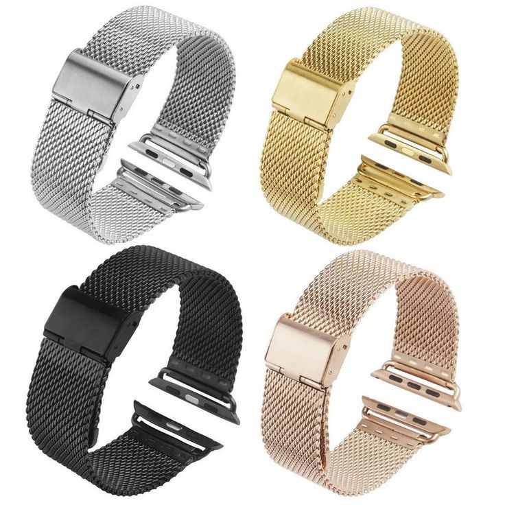 Milanese Loop Clasp Band For Apple Watch Sport / Watch Edition