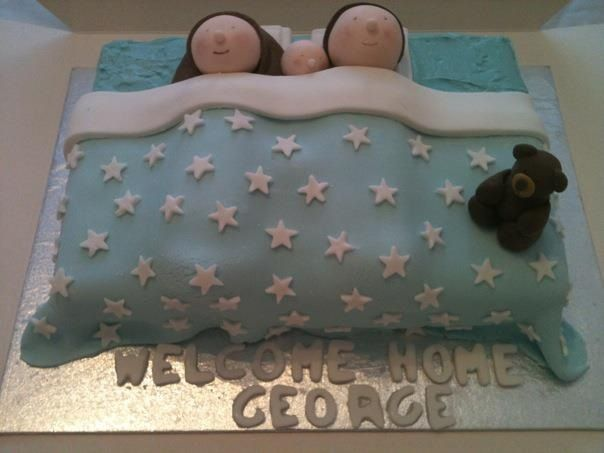 Superb Emejing Welcome Home Cake Designs Images   Amazing Design Ideas .