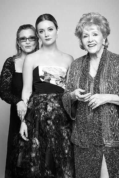 Carrie, Debbie, and Billie.  Very cool.