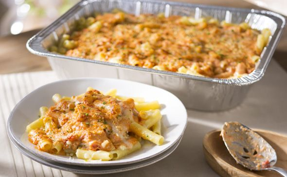 OLIVE GARDEN'S FIVE CHEESE ZITI AL FORNO. This was so good, it tasted just like the real thing and was pretty easy to make. It calls for a ton of cheese though, so be ready to get the giant sized bag of mozzarella at the grocery store.