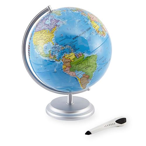 "Edu Science Interactive Globe with Smart Pen - Toys R Us - Toys ""R"" Us"