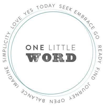 One Little Word - a challenge for art journaling.  Love this idea and all the inspiring ideas others post to this blog. Endless inspiration