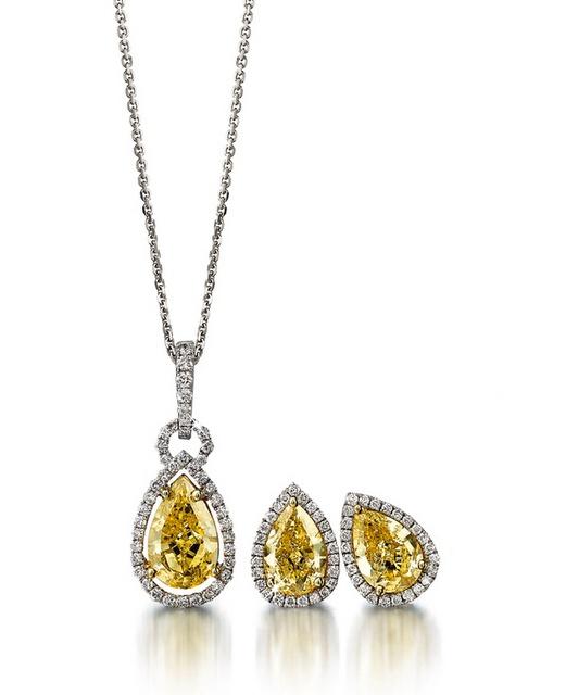 Coloured Diamond Jewelery