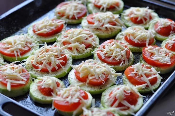 Кабачки с помидорами и сыром в духовке - пошаговый рецепт с фото на Повар.ру