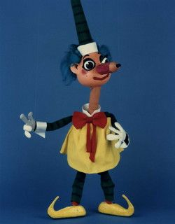 Mr Squiggle the man from the moon!