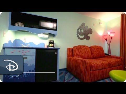 Finding Nemo Family Suite - Room Tour | Disney's Art of Animation Resort | Walt Disney World - YouTube