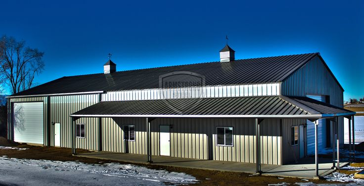 40 X 60 Metal Building Metal Buildings Design Ideas With Curved ...