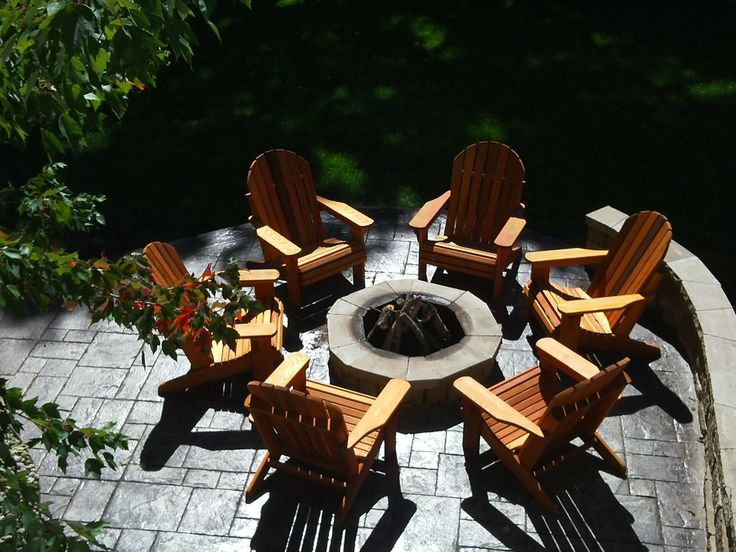 High Quality Adirondack Chairs By Oregon Patio Works