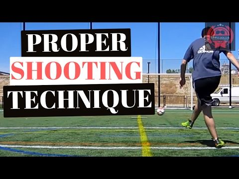 How To Shoot A Soccer Ball With Power And Accuracy From Far - YouTube