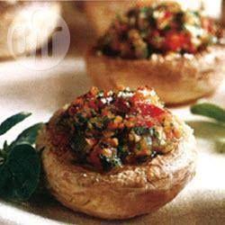 Met groenten gevulde champignons @ allrecipes.nl