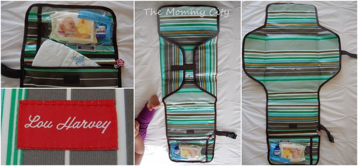 Lou Harvey Roll Up Nappy Changer : The Mommy City