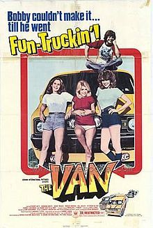 """The Van - best line from this movie """"there isn't a chick around who don't like the sound of the zip going down."""""""
