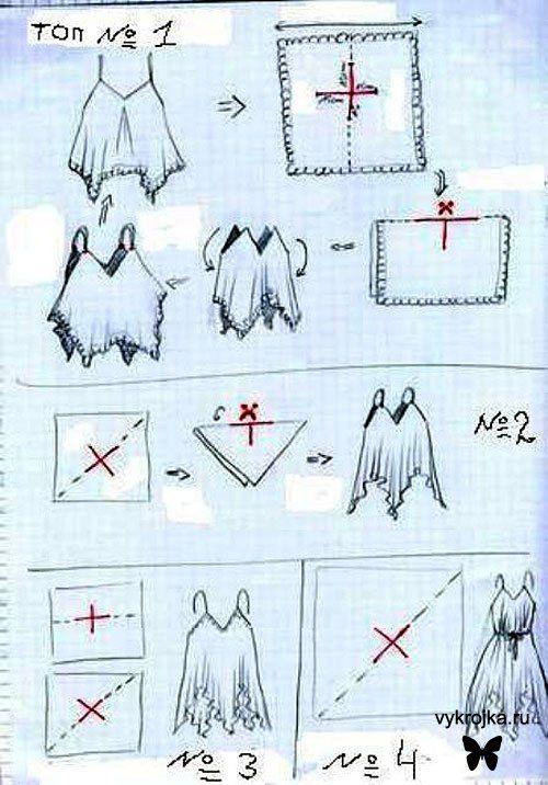 handkerchief dress tutorial