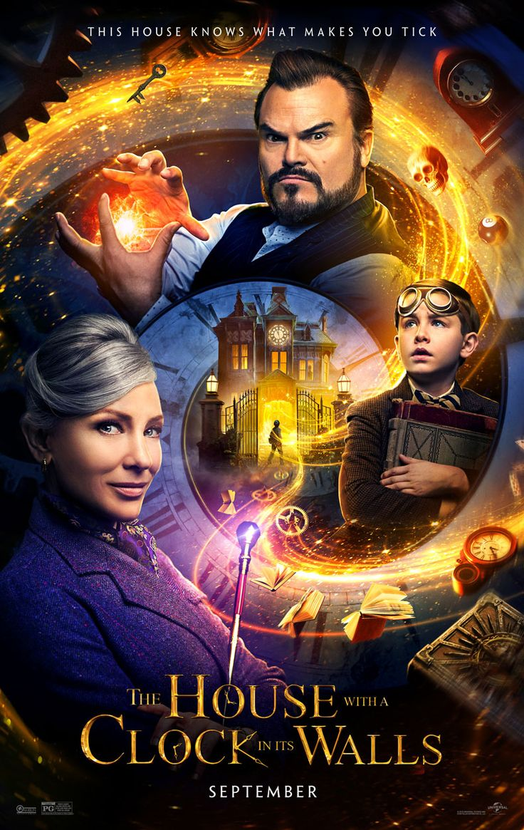 The House With A Clock In Its Walls Movie Trailer