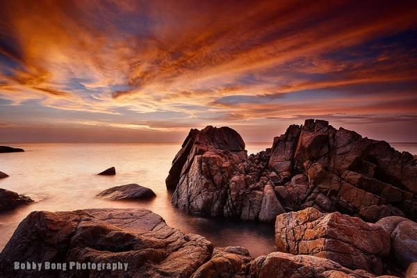Cracking rock - Landscape Photography by Bobby Bong  <3 <3