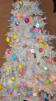 pretty sparkling eggs sweet easter bunnies i love the glow of a tree any season find this pin and more on year round holiday - Year Round Christmas Tree
