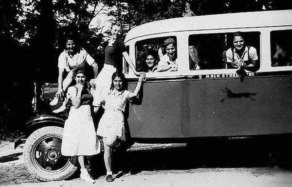 Sevimli bir halk otobüsü hatırası (Üsküdar - Şile arası) #birzamanlar #istanbul #oldpics #life #hayat #istanlook