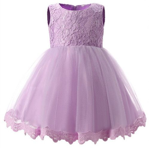 Lilac Lace Bow Dress - A beautiful lace dress for your baby or little girl - ideal for any occasion, or even a little flower girl #bebelleboutiqueuk #girl #girlsclothing #boutique #shopping #sunflower #summer #baby #babygirl #babyboy #babyshop #babyshower #discount #bargain