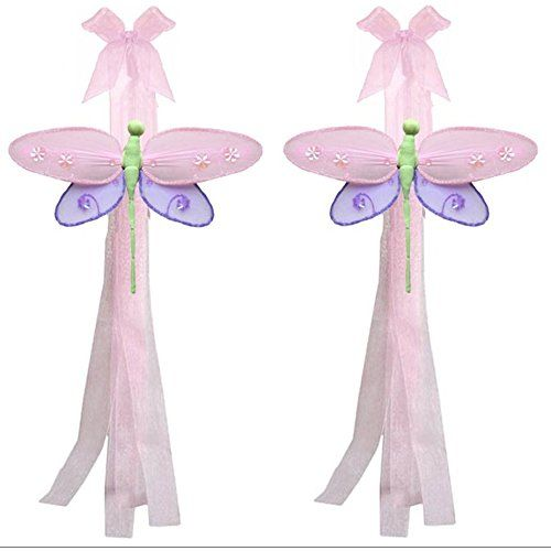 Dragonfly Curtain Tiebacks Pink Purple Lavender Green Hailey Nylon Dragonflies Pair Set Decorations Window Treatment Holdback Sheer Drapes Holder Drapery Tie Back Baby Nursery Bedroom Girl Room Home >>> Check this awesome product by going to the link at the image. (This is an affiliate link and I receive a commission for the sales)