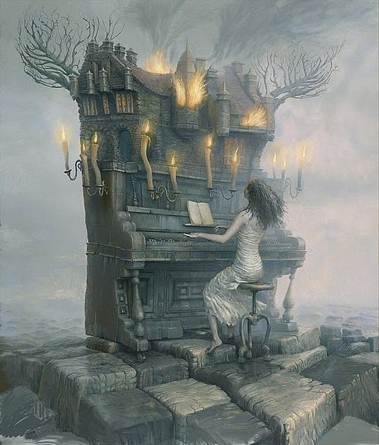 Beautiful Surreal Art by Andrew Ferez