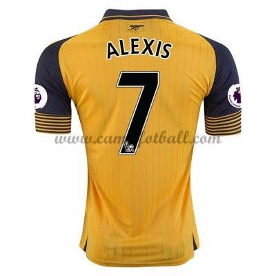 Arsenal Fotballdrakter 2016-17 Alexis 17 Bortedrakt