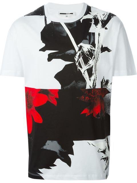MCQ ALEXANDER MCQUEEN 'Shields' T-Shirt. #mcqalexandermcqueen #cloth #t-shirt