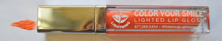 Alexsis Mae : Whitening Lightning Lighted Lipgloss ✤ Review