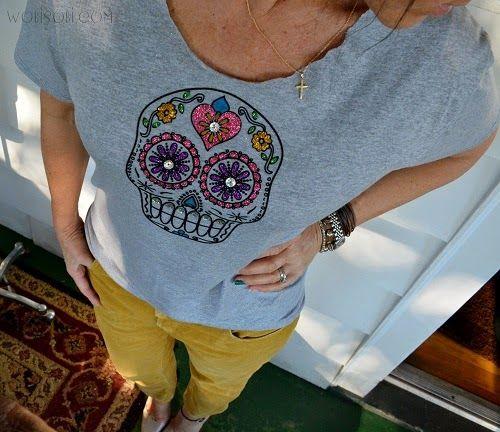 WobiSobi | WobiSobi Tee-Shirt DIY | Pinterest | Sugar ...
