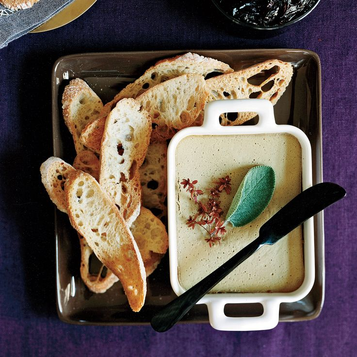 Chicken-Liver Mousse with Pickled Red Onion   Food & Wine