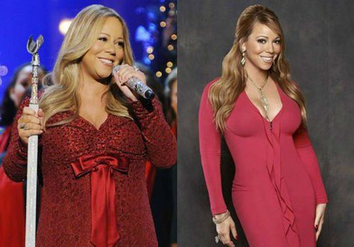46 Celebrity Weight Loss Transformations Mariah Carey