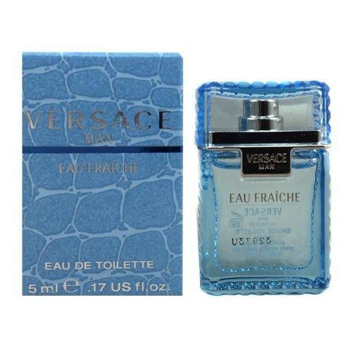 Versace Eau Fraiche 0.17 Oz Eau De Toilette Splash Mini By Versace New Box Men