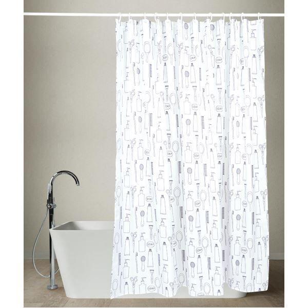 Koupelnový závěs vám pomůže udržet vaši koupelnu v suchu a barevně doplní její interiér.