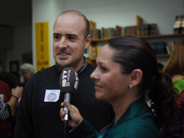 Con los amigos de Procono. Vinieron los mejores medios de Málaga!!!