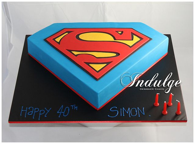 27 best my cakes an adventure in decorating images on for Superman logo template for cake
