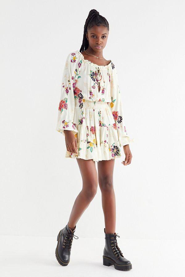 efc581d3ebe3b Cleobella Hadley Floral Mini Frock Dress   New Arrivals   Frock dress,  Dresses, Frocks