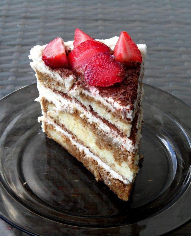 Moje Wypieki   Tort tiramisu